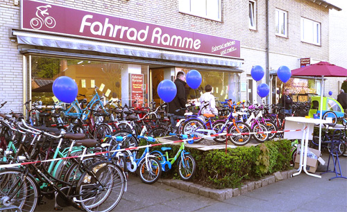Aktionstag bei Fahrrad Ramme